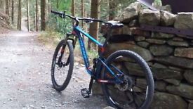 STOLEN on 28/07/18 'GIANT' MENS BLUE MOUNTAIN BIKE FROM ST PETERS AVE, CLEETHORPES