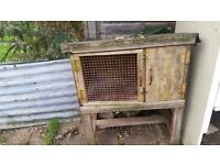 hutch for rabbit or guiena pig