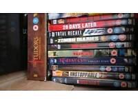 27 dvds perfect for car boot. Have a look at the pictures