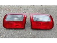 Honda Civic EG Rear and Tailgate Lights. Esi Vti SiR D16 B16 B18 K20 VTEC Engine