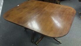 George II style mahogany D end TABLE !!!!!!!!!!!