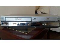 VHS DVD video player