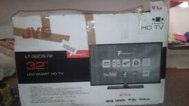 jvc smart tv with remort