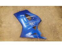 Triumph Sprint ST 1050 Left Hand Fairing Panel ( 2005 Caspian Blue )