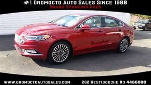 2017 Ford Fusion AWD! WINTER TIRES, REMOTE START