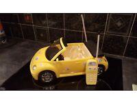 Barbie remote control VW Beetle convertible