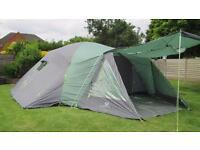 Suncamp Tourist Plus 12 XP. 12 man tent.