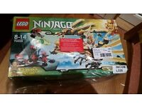 Lego Ninjago Golden Dragon Set - New and Sealed, Rare and Discontinued