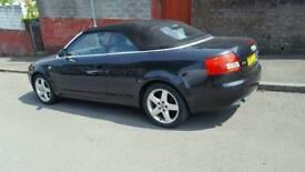 Audi a4 convertible 1.8 petrol