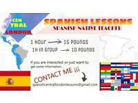 Spanish native teacher
