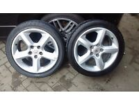 "Vauxhall Astra MK5 SRI 17"" Alloys X4 with Tyres"