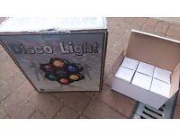 Disco lights and spare bulbs