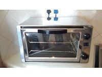 Reliable dual filament mini oven c