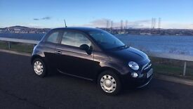 Purple Fiat 500 Pop 1.2 2013