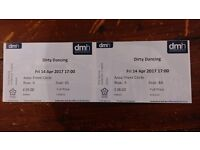 2 front circle tickets for Dirty Dancing - Fri 14th April 2017 17:00 at De Montfort Hall Leicester