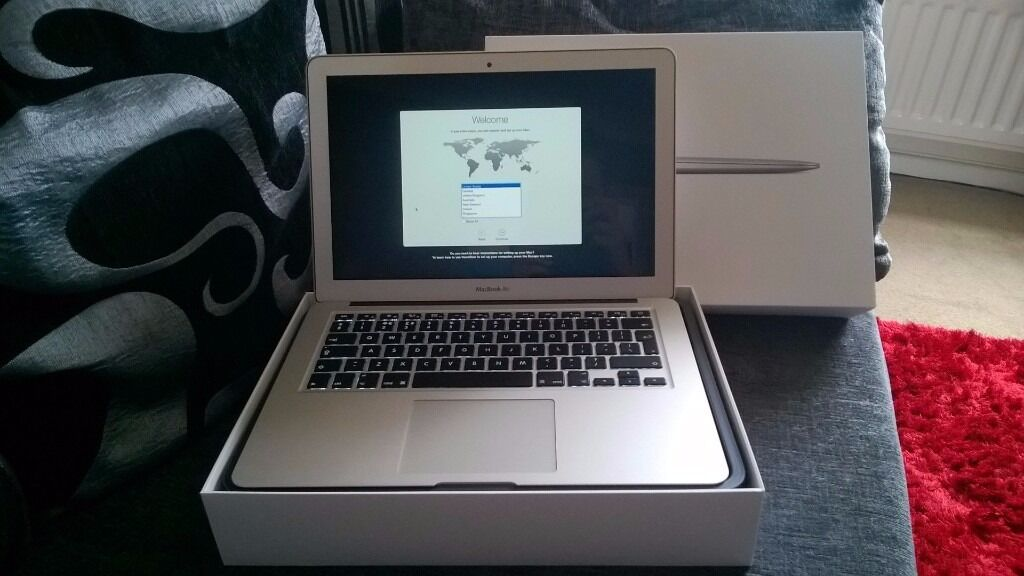 Apple Macbook Air 13.3Core i58GB RAM256GB SSDin Northampton, NorthamptonshireGumtree - Macbook Air for sale Apple Macbook Air 13.3 Core i5 8GB RAM 256GB SSD Brought new and direct from Apple in Dec 2014, 1 careful owner, Laptop in excellent condition hardly used, excellent battery life and fast charging! factory reset ready for a new...