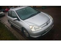 Honda Civic Imagine 1.6 VTEC Petrol 5Door Silver Manual PX Clearance Bargain