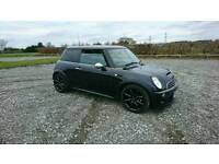 Mini Cooper s 1.6 Supercharged Black Full packs plus factory extras