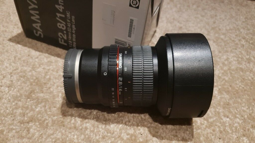 Samyang 14mm f/2 8 ED AS IF UMC Lens for Sony E Mount SONY FE | in Manor  Park, London | Gumtree