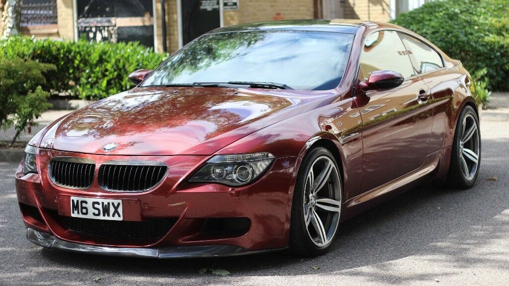 bmw m6 507 bhp 5 0 v10 indianapolis red hpi clear fsh stunning example immaculate. Black Bedroom Furniture Sets. Home Design Ideas