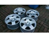 Audi TT Comps (competition) alloy wheels 17x7.5j 5x100