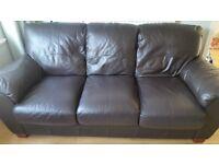3 seater leather sofa + 2 seater leather sofa
