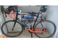 XXL 61cm Lapierre Audacio 500 Road Bike orange and black 2016 model. Cash on Collection