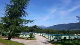 ****CARAVANS FOR SALE AT HUNTERS QUAY HOLIDAY VILLAGE FROM £12995****