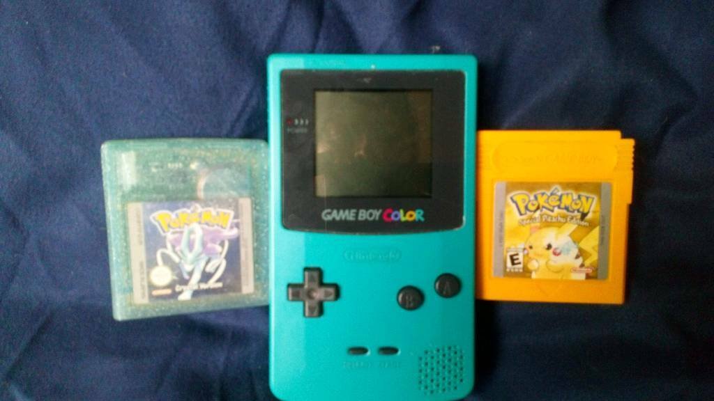 Game boy games console
