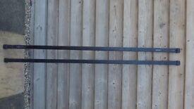 Thule roof bars. Pair Model 763 150cms
