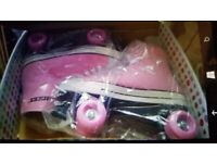 Cheap. Rollerskates. Brand New boxed. Collect today cheap. ideal Christmas present.