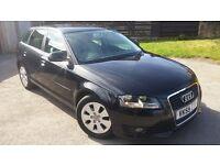 Audi A3 1.9 TDi SE Pearl Black 5 Door 12 months MOT HPI Clear