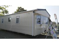 Cheap new caravan for sale £45,995 inc site fees, free ins, perfect for letting, South Devon