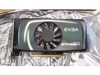 EVGA Nvidia Geforce GTX 550ti SC 1gb