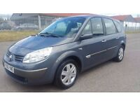RENAULT GRAND SCENIC AUTOMATIC IN EXCELLENT CONDITION. 1 YEAR MOT. SERVICE HISTORY. 2 OWNERS.