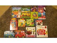 14 Baby/toddler books