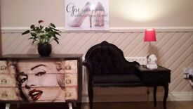 shabby chic styl chest of drawers, phone table