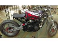Zx600 unfinished bobber & zx600 doner bike