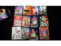 Disney and other Animated Movies Joblot Bundle