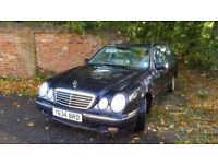 2001 MERCEDES-BENZ E 320CDi 7 SEATER DIESEL AUTOMATIC F/S/H 1 YEARS MOT.