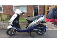 Sym Jet 50 Euro X 49cc Moped - Mot'd Till 28-07-17