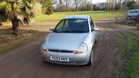 Ford KA Collection 1.3 very low mileage 54K excellent condition ideal first car
