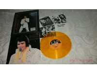 ELVIS PRESLEY-A CANADIAN TRIBUTE-1978-YELLOW 12.INCH VINYL-CANADA IMPORTED-12.INCH VINYL LP.(M/M)