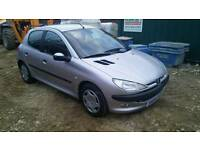 Peugeot 206 1.6 glx sell or swap