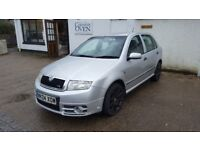 Skoda Fabia vRS 1.9tdi pd130 - PX / Swap possible