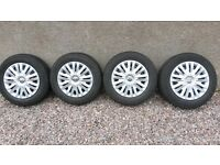 Set of winter wheels for sale - AUDI - VW - SEAT - SKODA