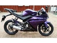 Yamaha YZF-R125 no time wasters!