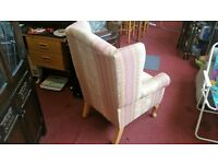 Chair - Solid Extra Comfy High Back Wing Chair