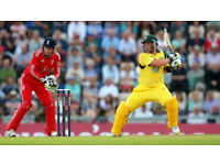 6 tickets for England v Australia T20 Twenty20 cricket match on 27th June 2018 at Edgbaston