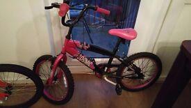 Girls bike - 18 inch wheels